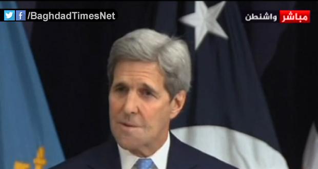 كيري: ثمة عراقيل أمام طريق السلام ولكن يجب أن نتمسك بالحوار من أجل حل الأزمة السورية