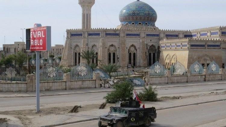 مدينة الرمادي بعد تحريرها من سيطرة داعش AFP