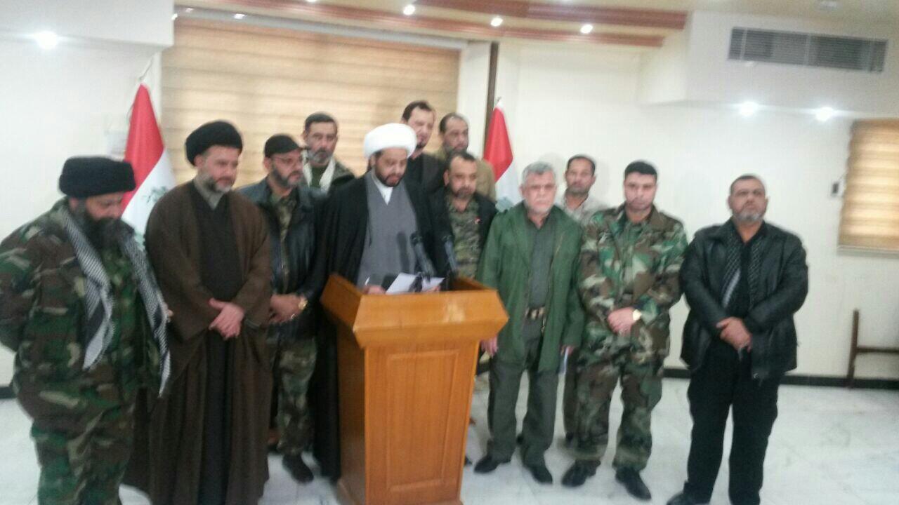 قادة فصائل المقاومة الاسلامية يطالبون بطرد السفير السعودي من العراق