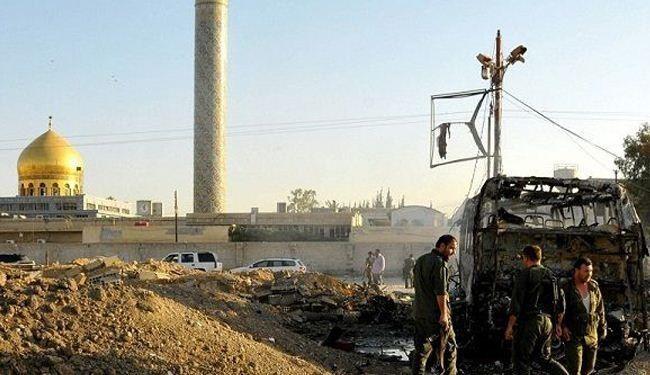 """شهداء وجرحى بانفجار في منطقة السيدة زينب """"ع"""" بريف دمشق"""