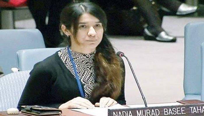الهجرة ترشح الايزيدية نادية مراد لنيل جائزة نوبل للسلام