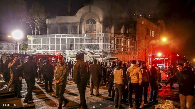 مصر والجامعة العربية تدينان الهجوم على السفارة السعودية