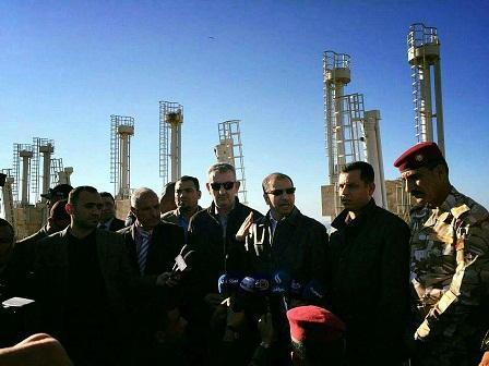 محافظ الانبار يؤكد توجه بوصلة عمليات التحرير الى غرب المحافظة بعد اتمام تحرير الرمادي بالكامل
