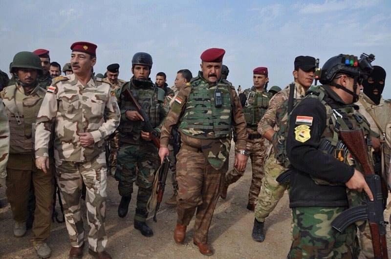 قيادة عمليات تحرير نينوى: قتل عدد كبير من الدواعش في قاطع مخمور وتدمير اسلحتهم