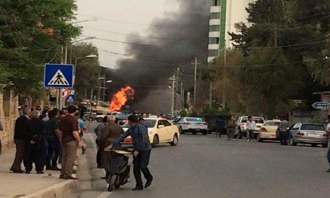 تظاهرات كربلاء تعود الى الواجهة واشتباكات مع القوات الامنية