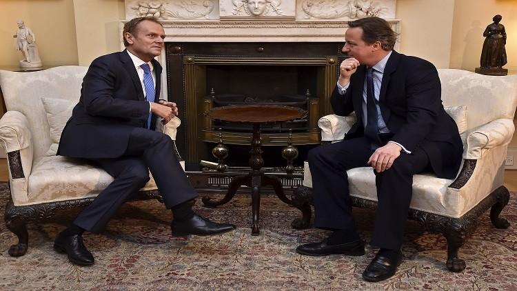 رئيس المجلس الأوروبي: لا ضمانات لبقاء بريطانيا في الاتحاد