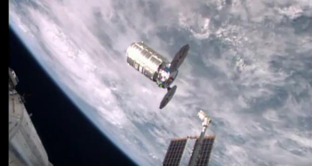 """ناسا: فيديو انفصال المركبة """"Cygnus"""" عن المحطة الفضائية الدولية"""