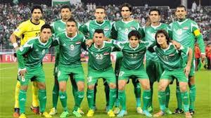 نهاية الشوط الاول بتقدم المنتخب العراقي على نظيره اليمني بهدفين نظيفين