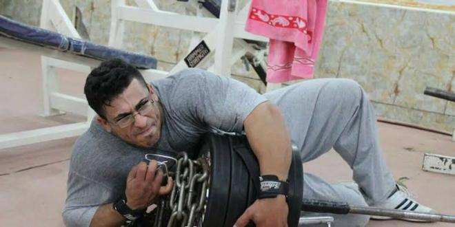 وفاة البطل العراقي في لعبة بناء الأجسام محمد السمباطي