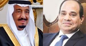 عبد الفتاح السيسي والملك سلمان بن عبد العزيز