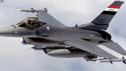 طائرات الـF16 العراقية تدمر محطة تكريت للنفط والبانزين التي تمول داعش الارهابية في نينوى