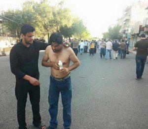 اختناق-المتظاهرين-ساحة-التحرير-بغداد-المنطقة-الخضراء2