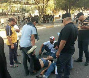 اختناق-المتظاهرين-ساحة-التحرير-بغداد-المنطقة-الخضراء3