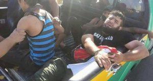 حالات اختناق واغماء بين صفوف المتظاهرين بتاريخ (20/أيار/2016) أرشيف