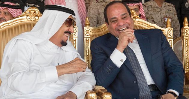 السيسي والملك السعودي سلمان بن عبد العزيز (ارشيف)