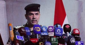 سعد معن المتحدث باسم وزارة الداخلية العراقية (ارشيف)