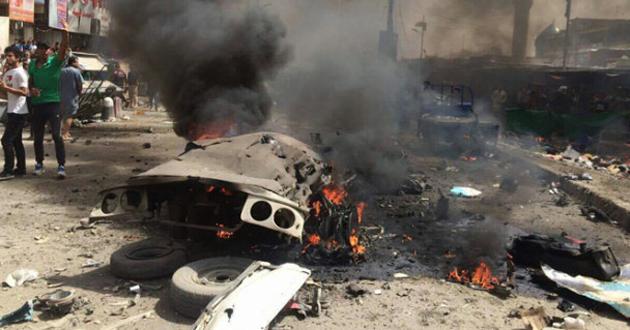 بالفيديو: مآسي العراقيين تبدأ من مجالس العزاء