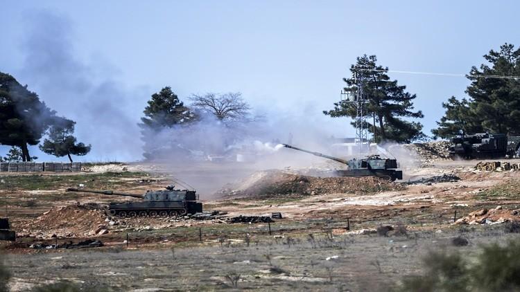 """أ ف ب: المدفعية التركية قصفت مواقع تابعة لـ""""داعش"""" في بعشيقة"""