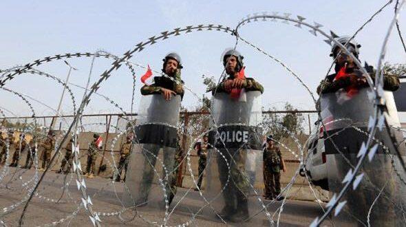 مظاهرات بغداد غاز مسيل للدموع