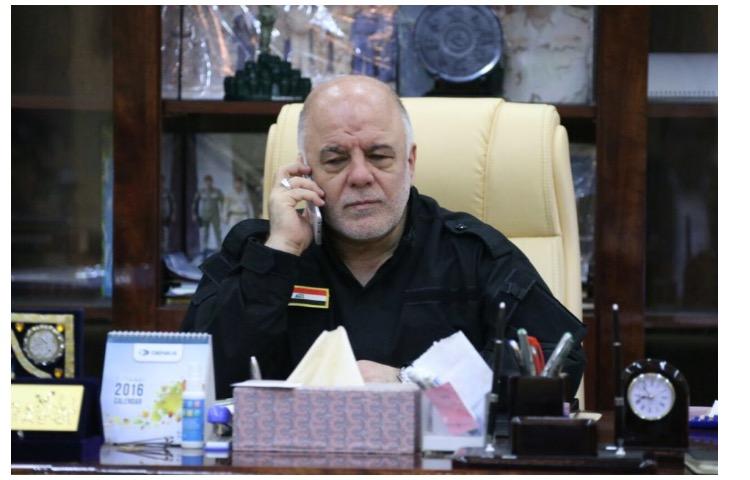العبادي للمتظاهرين: أجلوا تظاهرة يوم غد وسنتظاهر سوية في الفلوجة