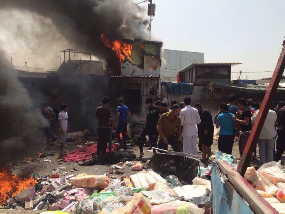 الزبيدي يدين تفجير مدينة الصدر ويؤكد على ضرورة إن لاتثني الخلافات من اجتثاث داعش