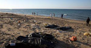 آلاف اللاجئين غرقوا خلال محاولة عبور المتوسط إلى أوروبا.