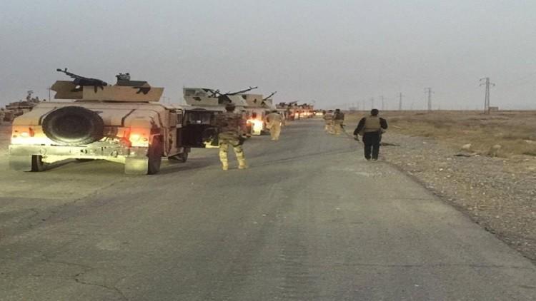وزارة الدفاع العراقية تعلن بدء عملية تحرير ناحية القيارة