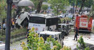 مقتل 11 شخصا بسيارة مفخخة في منطقة بايزيد وسط اسطنبول