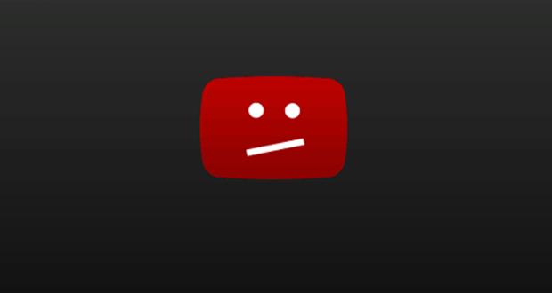 توقف موقع يوتيوب عن العمل