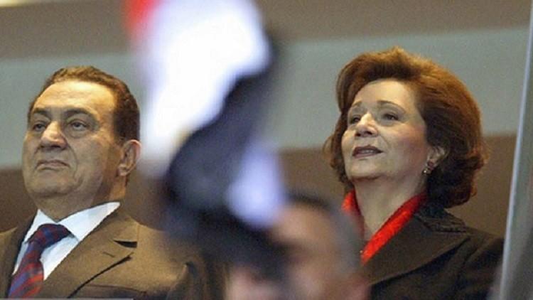 سوزان مبارك ومحمد حسني مبارك