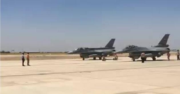 طائرات F16 العراقية تدمر معملاً لتفخيخ العجلات ونفقاً شمال الموصل