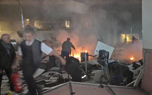 بالصور: مطار #أتاتورك بعد الانفجارين