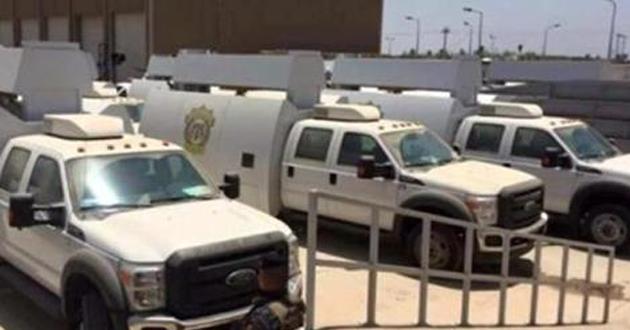 الاعلام الامني:  خبراء المتفجرات يعالجون مواد متفجرة واعتدة في ديالى