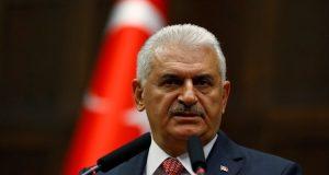 Reuters Umit Bektas رئيس الوزراء التركي بن علي يلدريم