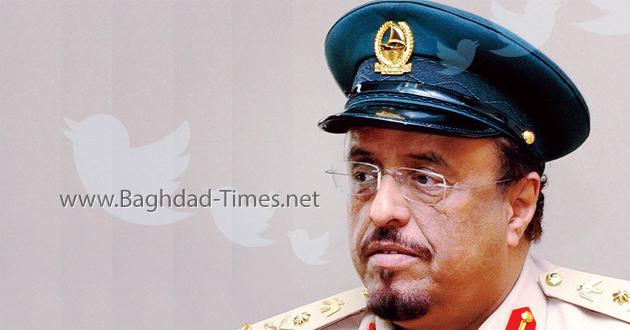 نائب رئيس شرطة دبي يهاجم العبادي ويتحدث عن قواعد عسكرية إيرانية بالعراق