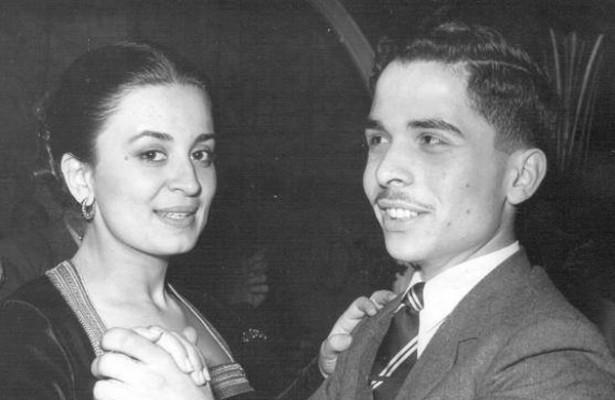 الملك الأردني الحسين بن طلال