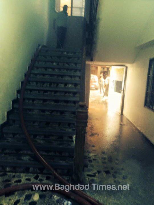 الكشف عن تفاصيل حادث حريق داخل مستشفى اليرموك في بغداد