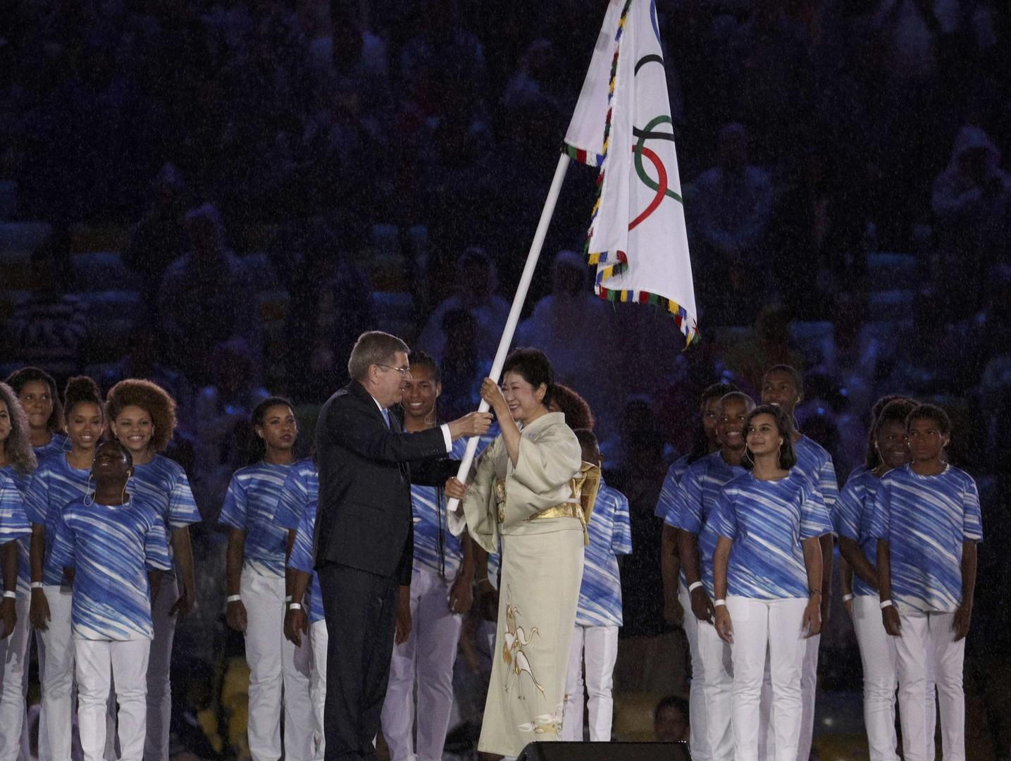حفل ختام اولمبياد ريو 2016