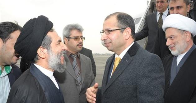 يحدث الآن: وصول رئيس مجلس النواب سليم الجبوري طهران