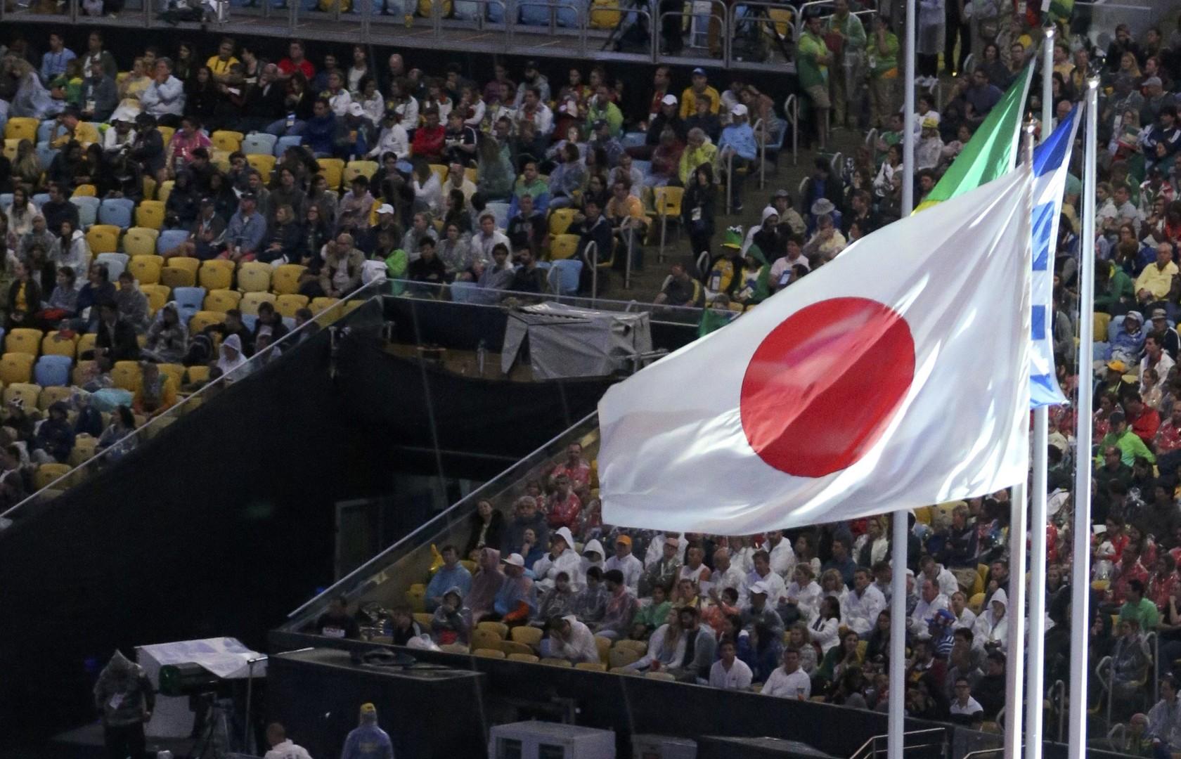 علم اليابان في اولمبياد ريو 2016