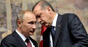 الرئيس الروسي فلاديمير بوتين ونظيره التركي رجب طيب اردوغان (ارشيف) publika.md