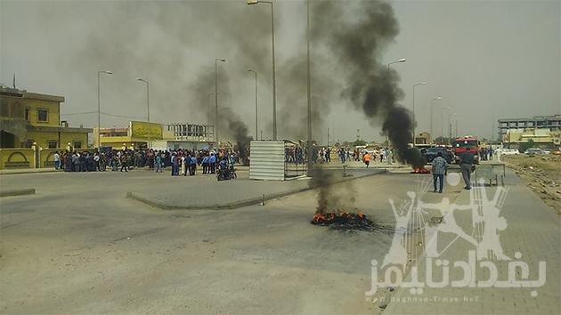 متظاهرو-الوقف-الشيعي-في-البصرة2
