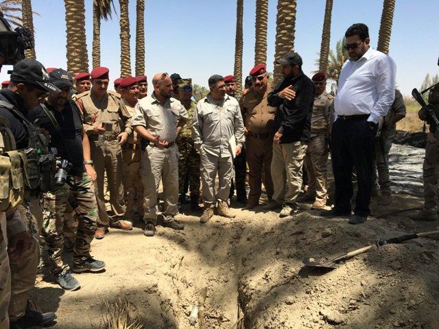 """امانة مجلس الوزراء: غالبية جثث مقبرة """"داعش"""" بجزيرة الخالدية من جنسيات اسيوية"""