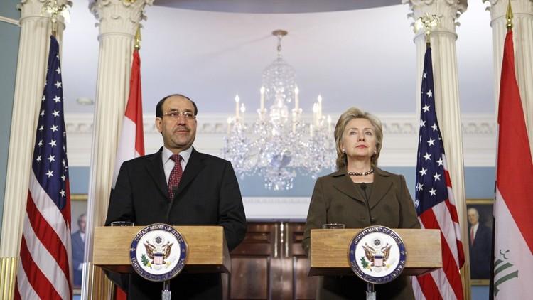 """تقرير: أخطاء سياسة كلينتون الخارجية أضعفت الأمن العراقي أمام """"داعش"""""""