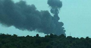 """انفجار صاروخ لـ""""سبيس إكس"""" على منصة إطلاقه بمركز كنيدي للفضاء"""