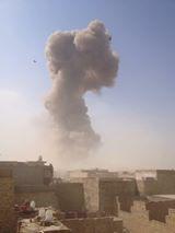 انفجار يهز منطقة المشتل شرقي بغداد
