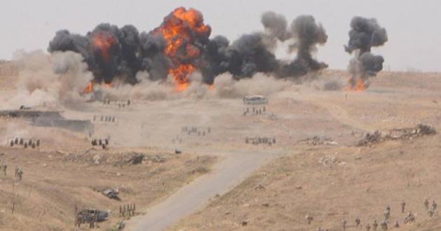 """التحالف الدولي يدمر عجلات تابعة لـ""""داعش"""" في جزيرة الرمادي"""