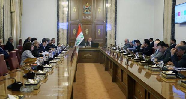 جلسة مجلس الوزراء العراقي برائسة حيدر العبادي 18/ايلول/2016