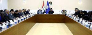 صورة من اجتماع التحالف الوطني العراقي برئاسة عمار الحكيم (18/تشرين الاول/2016)