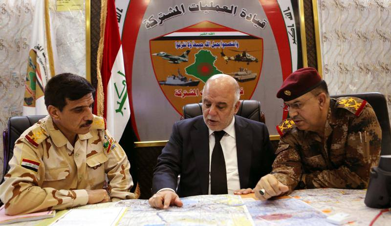 """العمليات المشتركة: اكمال تحضيرات عملية """"تحرير الموصل"""" وبإنتظار ساعة الصفر"""